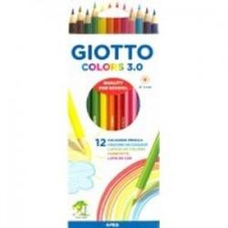 Набор карандашей 12 цветов GIOTTO ELIOS GIANT