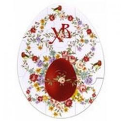 Магнитный пазл-яйцо 'ХВ. Яйцо в цветах'