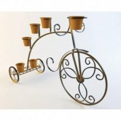 Цветочница кованая 'Велосипед', 110x50x80 см (без горшков)