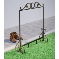 Чистилка для обуви кованая 'Дачная', 78x70x23 см