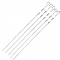 Шампур прямой, толщина 1,5 мм, размер 48х1 см (5 шт.)