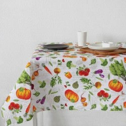 Скатерть 'Доляна' Овощи 145х144 см, 100% хлопок,вафельное полотно, 162 г/м2