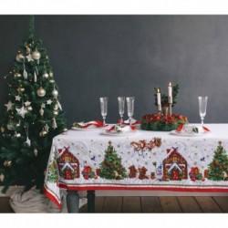 Скатерть «Этель: Новогодняя сказка», 145 x 173 см, 100 % хлопок, саржа, 190 г/м2