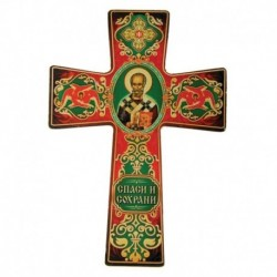 Крест с подвесом 'Икона Николая Чудотворца'