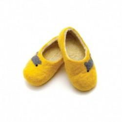 Детские войлочные тапочки Мышки. Размер 18 см