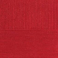 Ангорская тёплая. Цвет 88-Красный мак. 5x100г