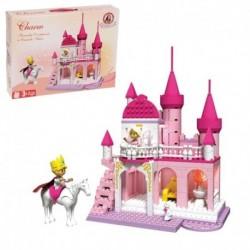 Конструктор для девочек «Розовый замок», 300 деталей