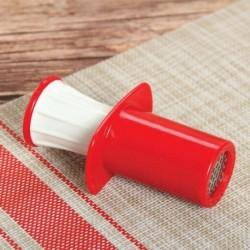 Пресс для чеснока 11 см 'Конус', цвет в ассортименте