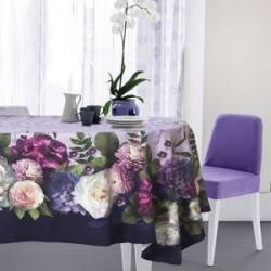 Скатерть «Этель» «Цветочный этюд» 150x180 см, хлопок 100 %, саржа 190 г/м2