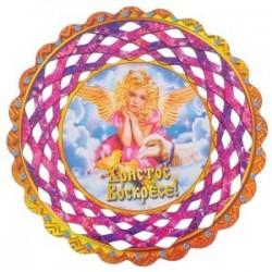 Тарелка конфетница 'Ангел', 19,5x19,5 см