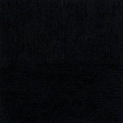 Льняная шерсть. Цвет 02-Черный. 5x100 г.