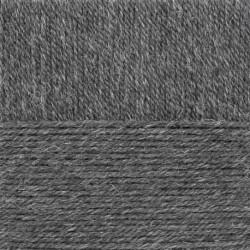 Носочная пряжа. Цвет 96-Серый меланж. 10x100 г.