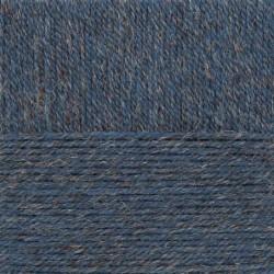 Носочная пряжа. Цвет 255-Джинсовый. 10x100 г.