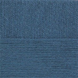 Носочная пряжа. Цвет 256-Св.джинса. 10x100 г.