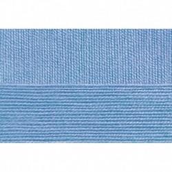 Австралийский меринос. Цвет 520-Голубая пролеска. 5x100 г.