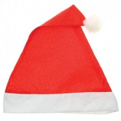 Колпак новогодний 'Красный в крапинку' 28x38 см