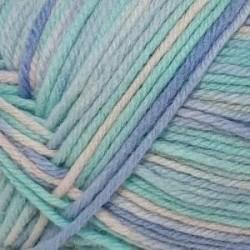 Элегантная. Цвет 559 М (бирюза, суровый, голубой). 10х100 г
