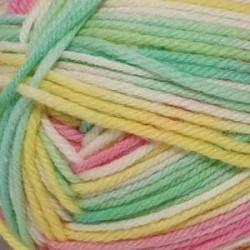 Элегантная. Цвет 632 М (салатовый, белый, желтый, т. Розовый). 10х100 г