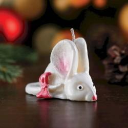 Свеча декоративная 'Мышка малая', микс, 4x7,5x4,5 см