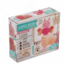 Мягкая игрушка «Пчелка Молли», набор для вязания, 10x4x14 см