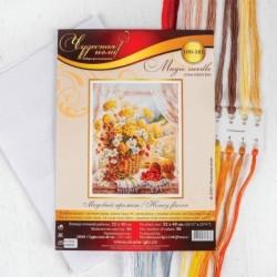 Набор для вышивания крестом «Медовый аромат» 32x40 см