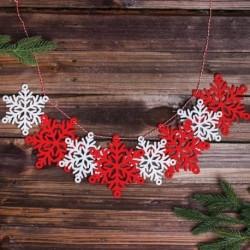 Набор для творчества - гирлянда своими руками 'Снежинки' пластиковая игла
