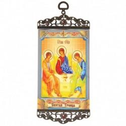 Икона-хоругвия 'Святая Троица' на подвесе