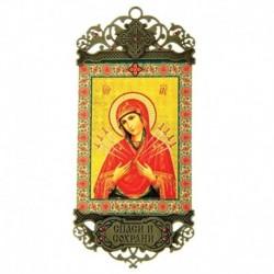 Икона-хоругвь 'Семистрельная икона Божией Матери'