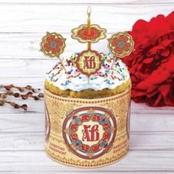 Пасхальный набор для украшения кулича «Розетка»