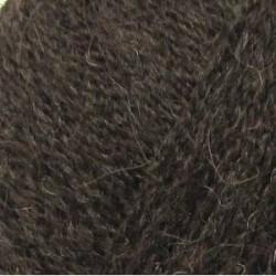 Верблюжья шерсть Цвет 372 натуральный т.серый. 10х100 г