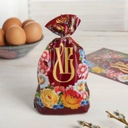 Пасхальный подарочный пакет «Орнамент», 14,5x20 см