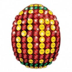 Набор для декорирования пасхального яйца пайетками № 1