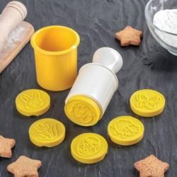 Набор съёмных печатей для печенья «Пасха», 6 шт, цвет в ассортименте