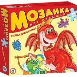 Мозаика для малышей: Веселые дракончики 24 элемента