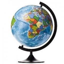 Глобус Земли политический