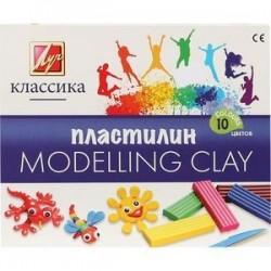 Пластилин детский 'Классика' 10 цветов (7С 304-08)