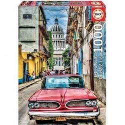 Пазл-1000 'Винтажное авто в старой Гаване' (16754)