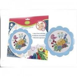 Набор для вышивания крестиком 'Цветы и птицы' (57898)