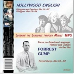 CDmp3 Hollywood English & Forrest Gump