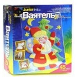 Ваятель. Набор для создания объемных барельефов 'Дед Мороз у елки'