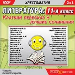 11 класс. Краткий пересказ + лучшие сочинения (DVDmp3)