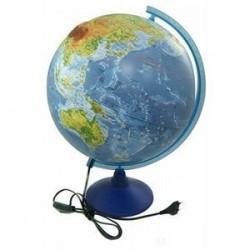 Физическо-политический глобус Земли, рельефный d-320 мм. (Ке013200233)
