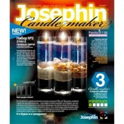 274013 Набор свечей №3 гелевые с ракушками