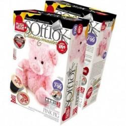 457010 Мягкая игрушка/Свинка розовая