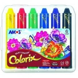 Восковые мелки 'ТРИ В ОДНОМ' 6 цветов (22942)