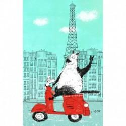 Блокнот, поднимающий настроение 'в Париже'
