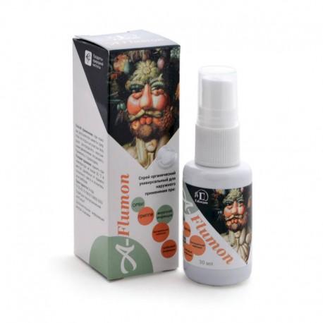 A-Flumon спрей антимикробный для тела органический, 30 ml