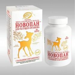 НОВОПАН №4, для растущего организма, кальций и витамин D, 90 кап