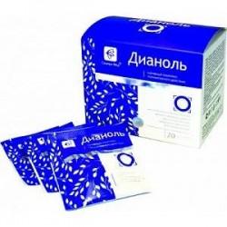 Дианоль 20 саше-пакетов по 5 гр. при всех формах диабета