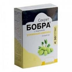 Секрет бобра с лецитином. Острый ум (в капсулах), 30 капсул по 500 мг